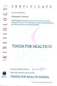 12_Touch for Health 4_test alimentare, analisi posturale, tecniche per testa e collo, aree dorsale, lombare e ginocchia
