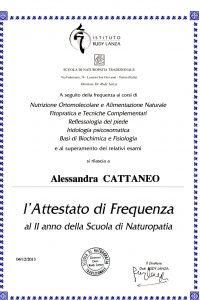 3_Attestato Naturopatia secondo anno_Corsi delle principali discipline bionaturali e di alimentazione naturale.