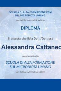 Diploma Scuola di Alta Formazione sul microbiota umano_Utilizzo appropriato dei probiotici per le differenti problematiche_page-0001